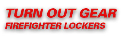 Turnout-Gear Firefighter Lockers