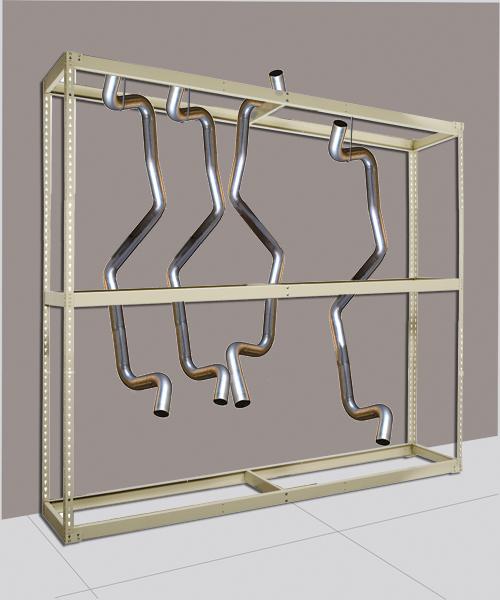 Hanging Tailpipe Rack