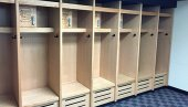 Football Wood Lockers