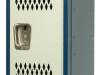 Body/Frame: Dark Blue,  Door: Light Gray