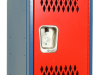 Body/Frame: Blue, Door: Red