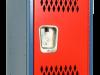 Body/Frame: Blue, Door: Red