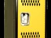 Body/Frame: Black, Door: Yellow