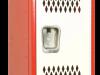 Body/Frame: Red, Door: White