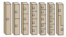 7 configurations