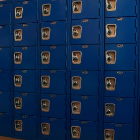 Park Vista High School Corridor Lockers