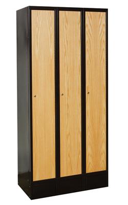 Hybrid Wood and metal lockers