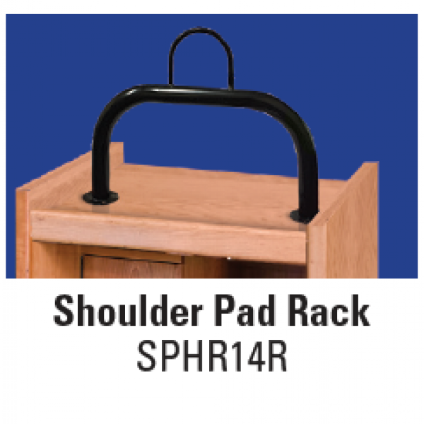 Shoulder Pad Rack