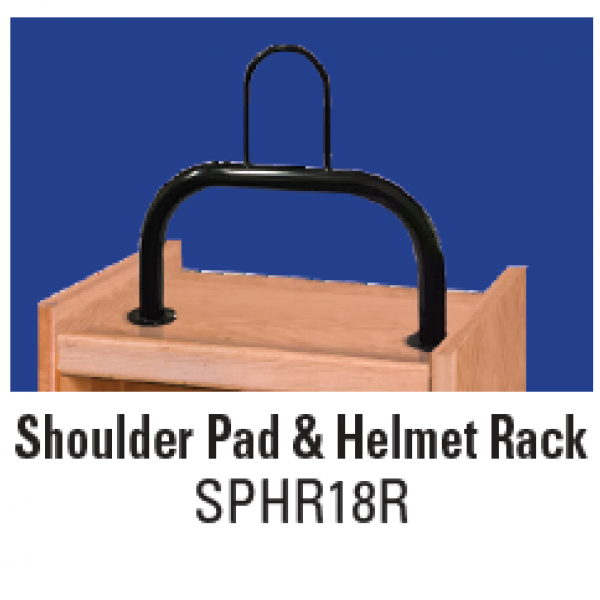 Shoulder Pad & Helmet Rack