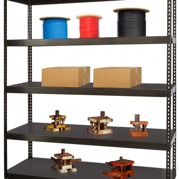 Boltless Die Shelving with load