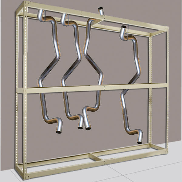 Rivetwell Hanging Tailpipe Rack