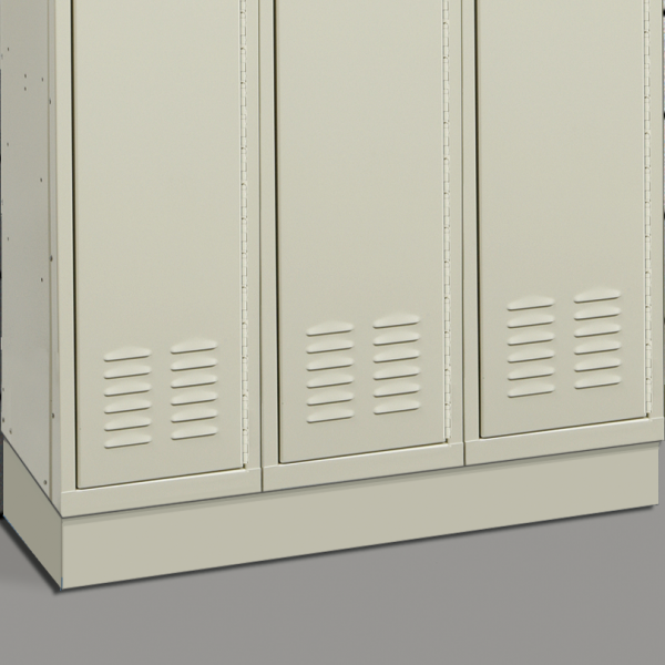 "2 - 4"" Continuous Z-Base (KD lockers only)"