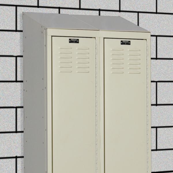 3 - 20 gauge Individual Slope Top (KD lockers only)