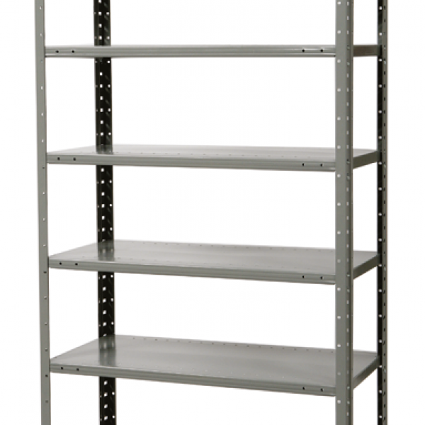Duratech Pass Thru Shelving with 8 Shelves