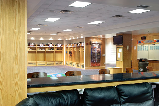 University Of Florida Football Lockers List Industries Inc